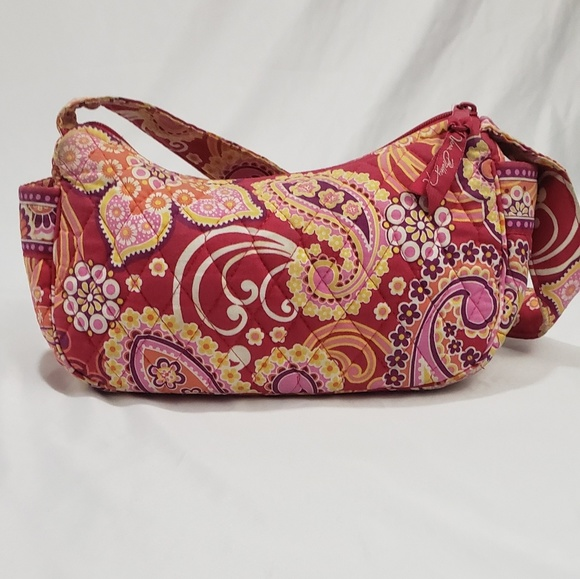 Vera Bradley Handbags - Vera Bradley Paisley Print Mini Shoulder Bag